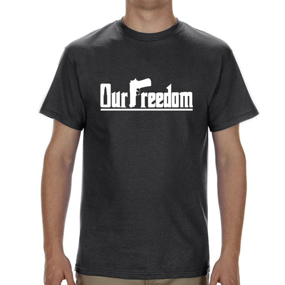 OUR FREEDOM - Sign Design - Gray