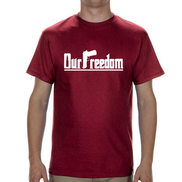OUR FREEDOM - Sign Design - Red
