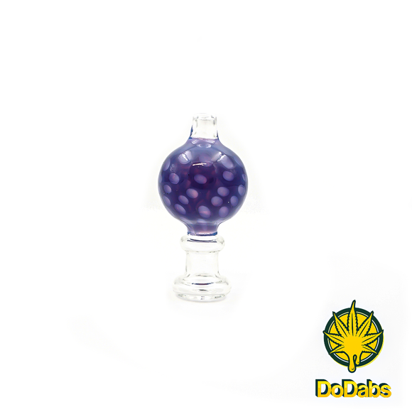 DoDabs - Bubble Carb Cap Spotted - Purple