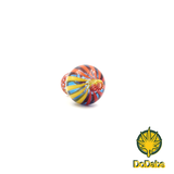 DoDabs - Bubble Carb Cap Stripes - Red to Yellow on Blue