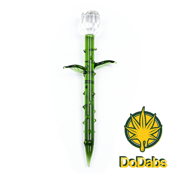 DoDabs - Glass Dabber - Crystal Rose - Head HQ