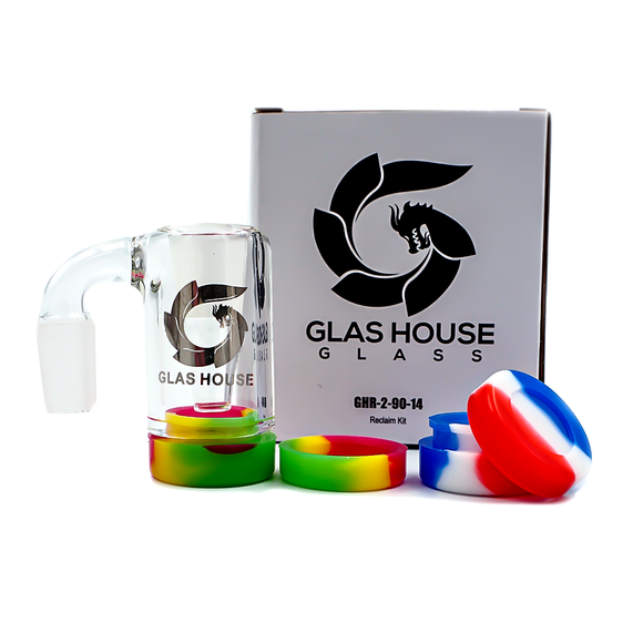 Glas House Reclaimer w/ Silicone Containers