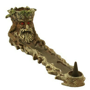 Incense Burner - Tree Boat
