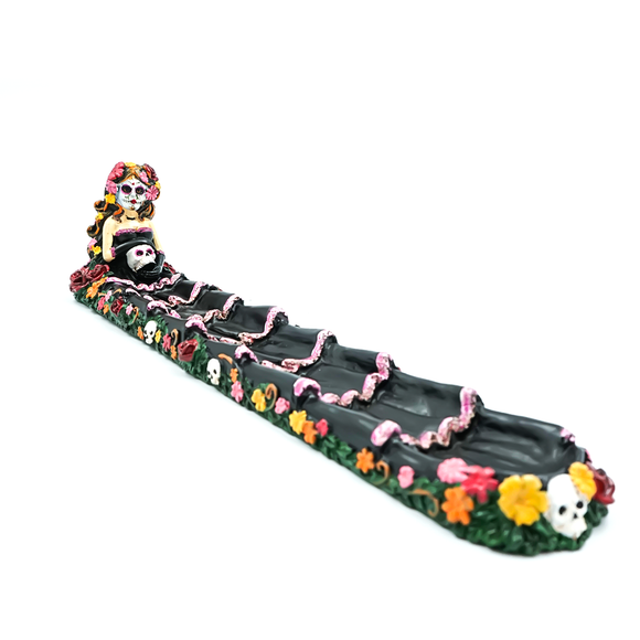Incense Burner - Day of the Dead Boat