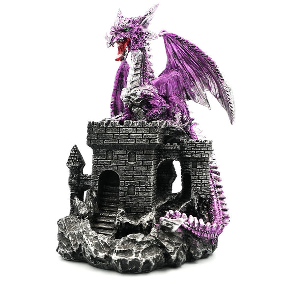 Incense Burner - Backflow Dragon & Castle