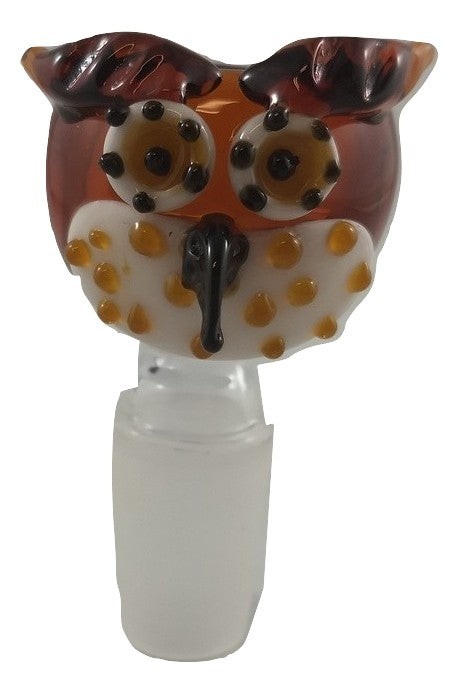 Owl Bowl 14MM Amber - Head HQ