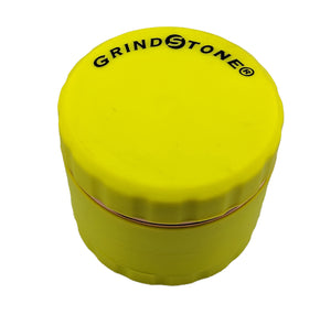 Grind Stone® 4 pcs Silicone Grinder - Yellow - Head HQ