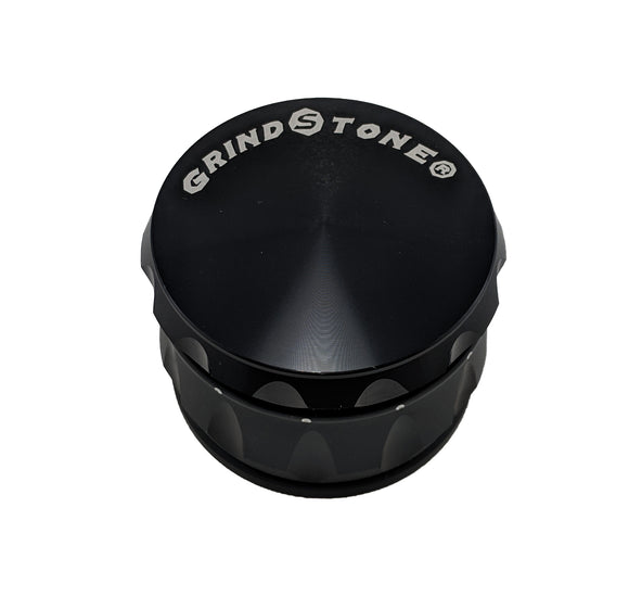 Grind Stone® 4 pcs Grinder - Black - Head HQ