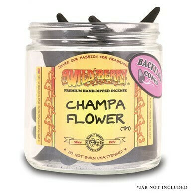 Wild Berry Backflow Cones - Champa Flower (25units)