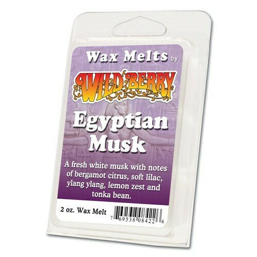 Wildberry Wax Melts - Egyptian Musk