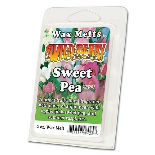 Wildberry Wax Melts - Sweet Pea