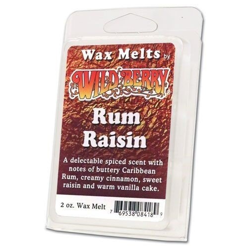Wildberry Wax Melts - Rum Raisin