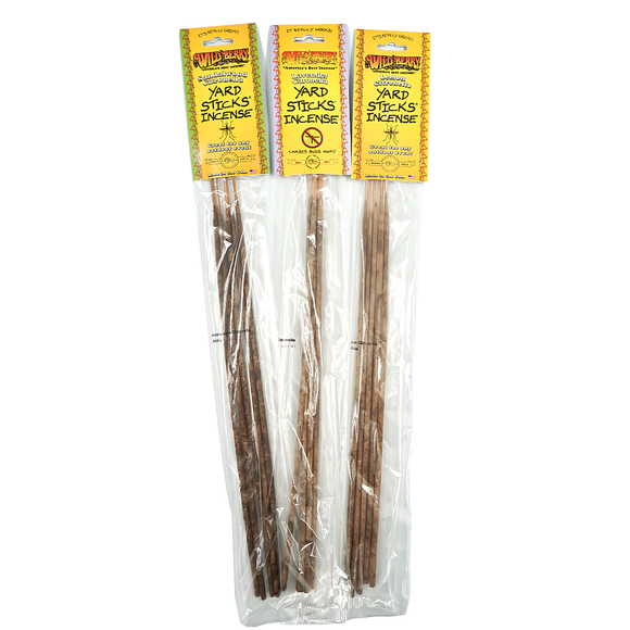 Wildberry Incense - Citronella Yard Sticks