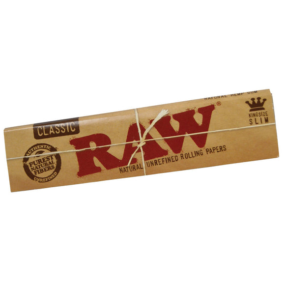 Raw - Natural King Size Slim - Head HQ