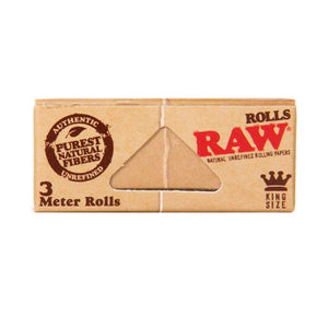 Raw - Natural King Sized Roll (3m) - Head HQ