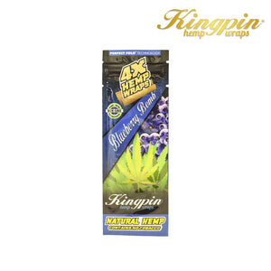 Kingpin Hemp Wraps - Blueberry