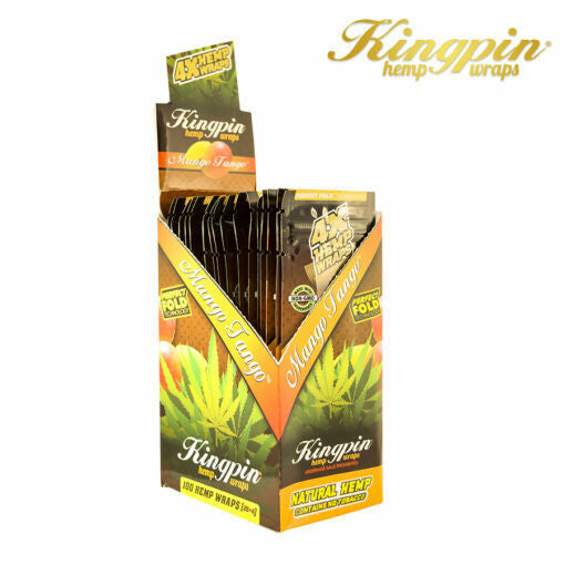 King Pin Hemp Wraps - Mango