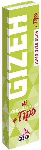 Gizeh - Super Fine King Size Slim w/ Tips - Head HQ