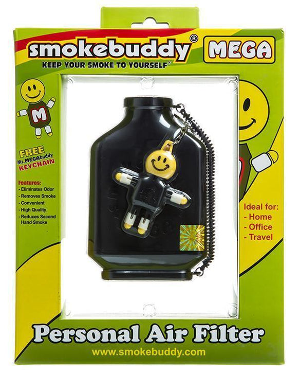 Smokebuddy - MEGA Personal Air Filter - Head HQ