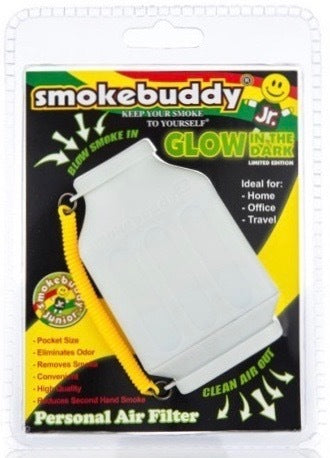 Smokebuddy Junior - Glow in the Dark (Blue & White)