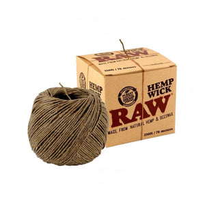 Raw - Hemp Wicks - Head HQ