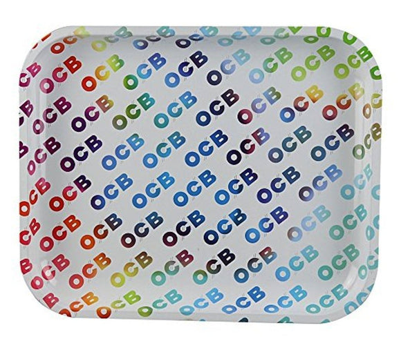 OCB Rolling Tray - Large - Rainbow
