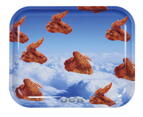 OCB Rolling Tray - Large - Wings
