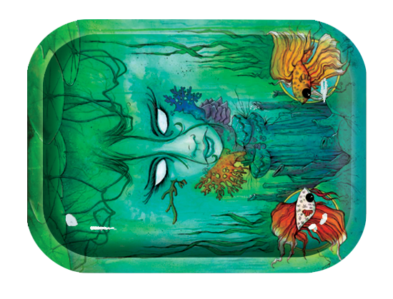 OCB Rolling Tray - Large - Brackish