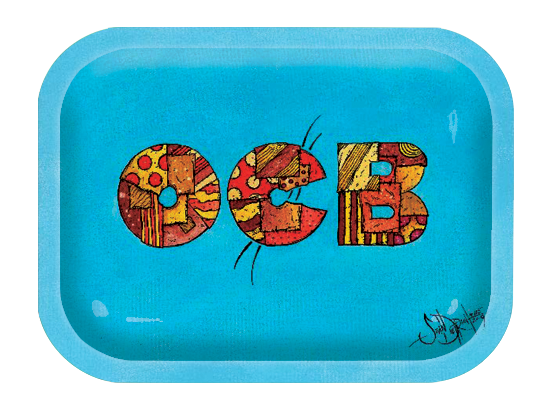 OCB Rolling Tray - Large - Patchwork