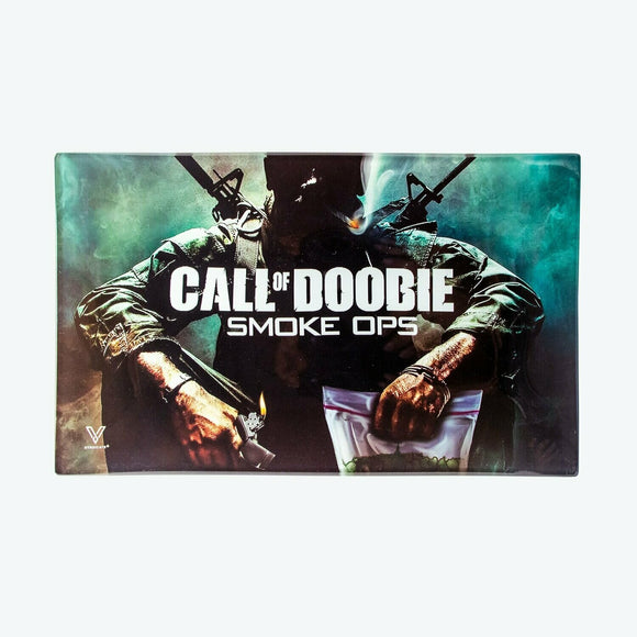 Glass Tray - Medium - Call of Doobie - Head HQ