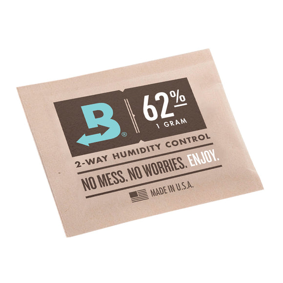 Boveda 62% 2-Way Humidity Pack - 1g