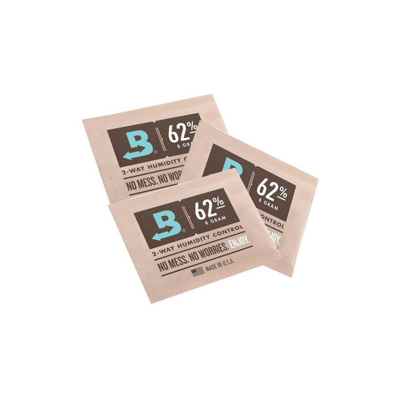 Boveda 62% 2-Way Humidity Pack - 8g