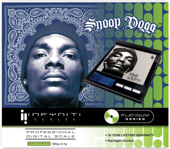 Digital Scale - Snoop Dogg 500g - Head HQ