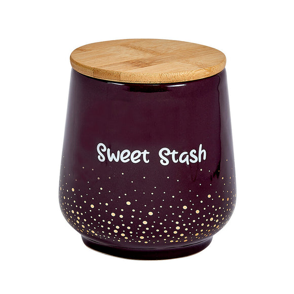Ceramic Stash Jar - Sweet Stash