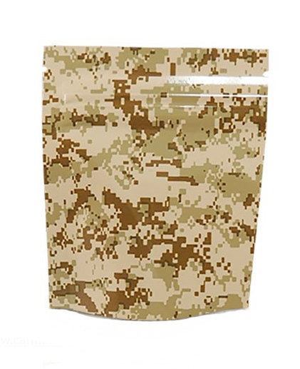 Stealth Cannaline Bag - Tan Camo (Small - 3.5 x 4 Inches - 15pk) - Head HQ