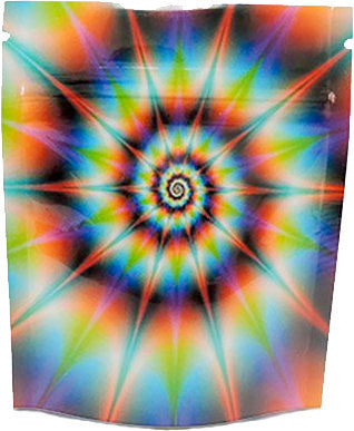 Stealth Cannaline Bag - Tye Dye (Small - 3.5 x 4 Inches - 15pk) - Head HQ