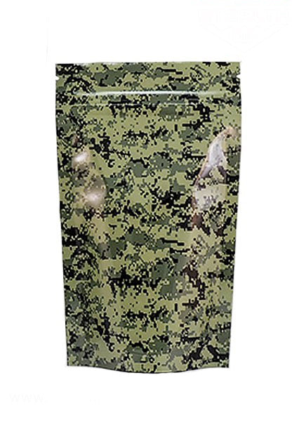 Stealth Cannaline Bag - Camo Green (Medium - 4 x 6.5 Inches - 10pk) - Head HQ