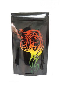 Stealth Cannaline Bag - Rasta Lion (Medium - 4 x 6.5 Inches - 10pk) - Head HQ
