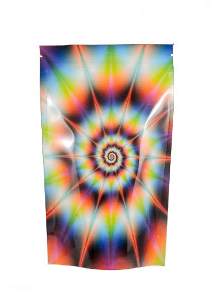 Stealth Cannaline Bag - Tye Dye (Medium - 4 x 6.5 Inches - 10pk) - Head HQ