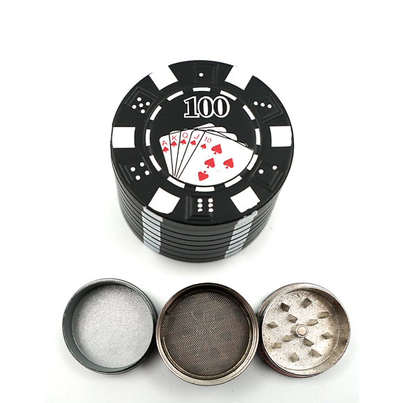 Poker Chip Grinder - Red & Black - Head HQ