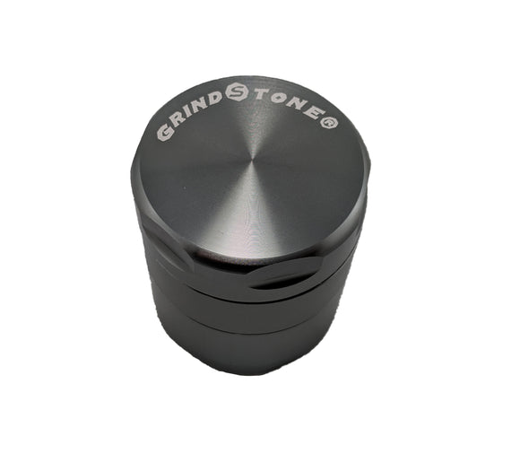 Grind Stone® 4 pcs Grinder - Gun Metal - Head HQ