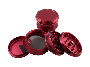 Grind Stone 4 pcs Grinder Red - Head HQ