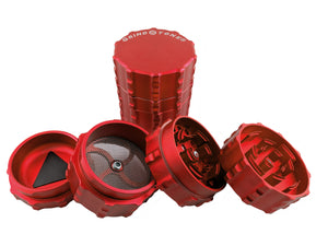 Grind Stone 4pcs Grinder Red - Head HQ