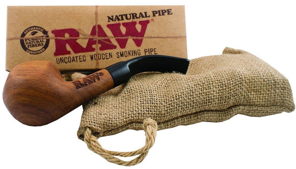 Raw - Wooden Pipe - Head HQ