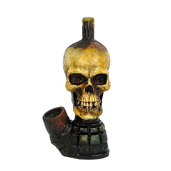 Resin Pipe - Medium - Skull