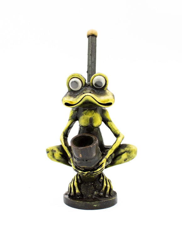 Resin Pipe - Medium - Standing Frog