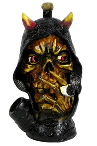 Resin Pipe - Medium - Smokin' Demon