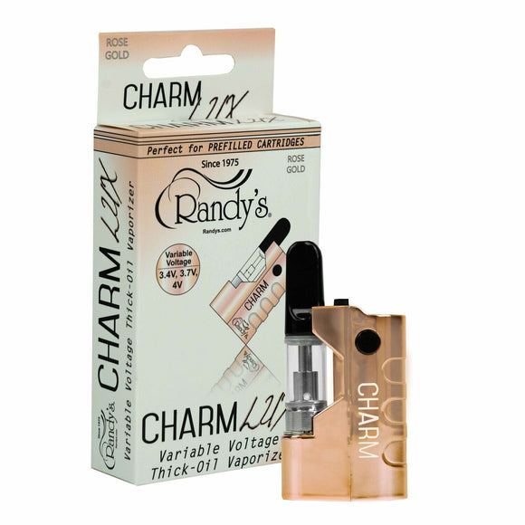 Randy's Charm Thick Oil Vaporizer - Rose Gold