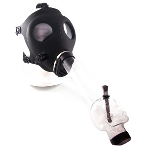 Gas Mask - Skull - Clear