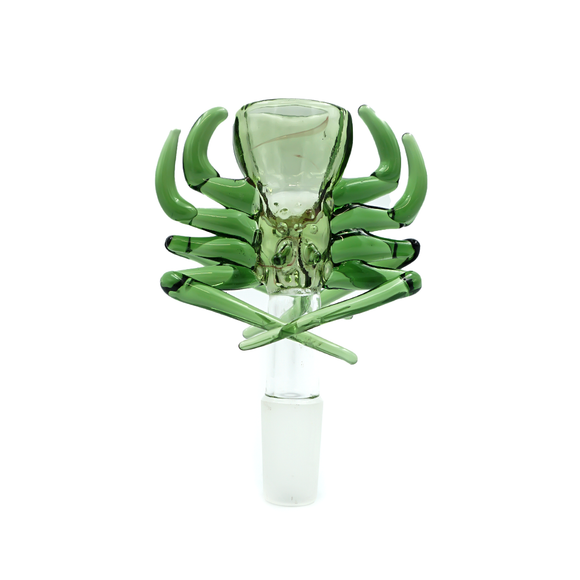 Spider Bowl - 14mm - Green